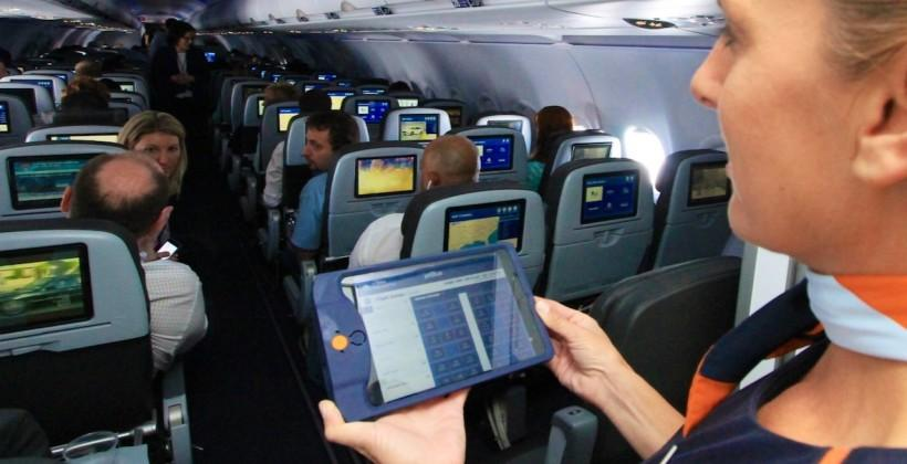 JetBlue is giving all crew an iPad mini to predict what gin you like