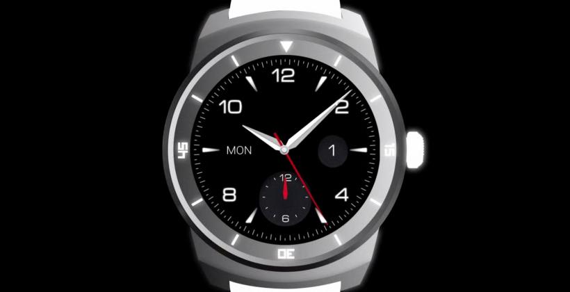 LG G Watch R circular smartwatch teased for next week
