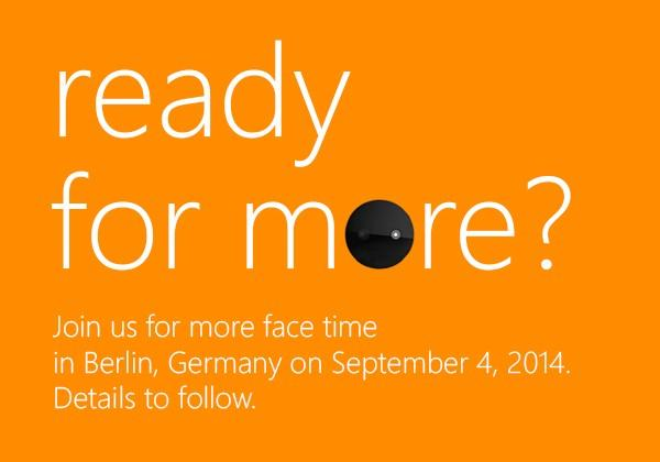 "Microsoft teases IFA phone: ""Selfie"" Lumia incoming?"