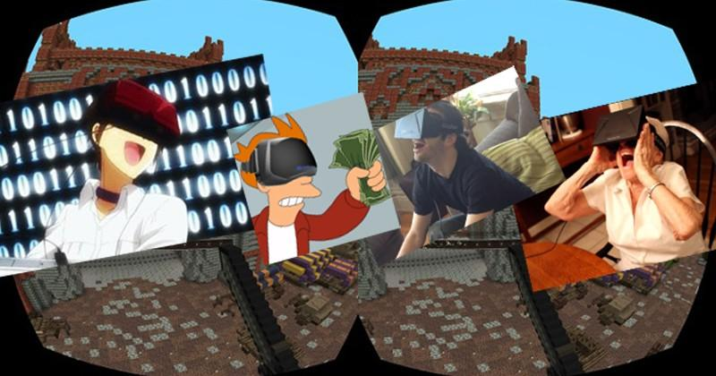 Oculus Minecraft again possible as Notch mends socks