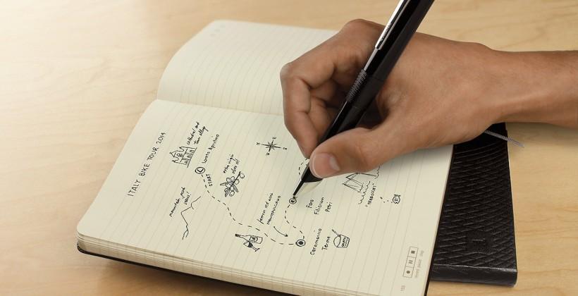 Moleskine adds Livescribe digital pen support