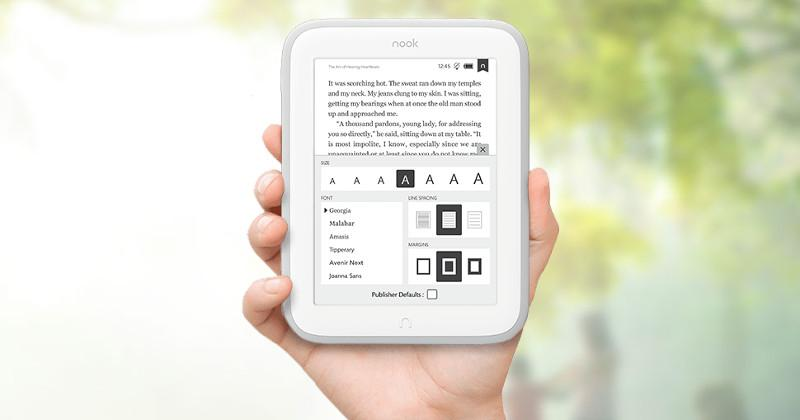 NOOK GlowLight enters UK to challenge Kindle Paperwhite