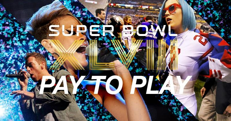 "NFL ""pay to play"" Superbowl halftime act deal rumored"