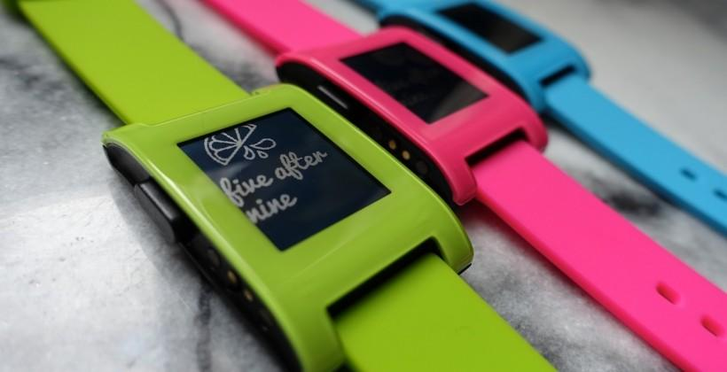 Pebble Fresh, Hot and Fly limited edition smartwatches land