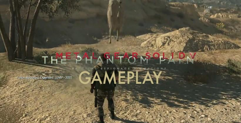 Metal Gear Solid V gameplay demo full rundown