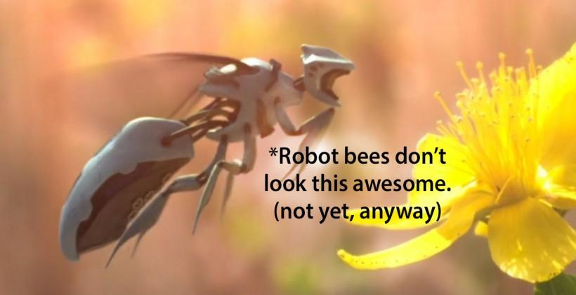 Robot bees being built to replace real bugs