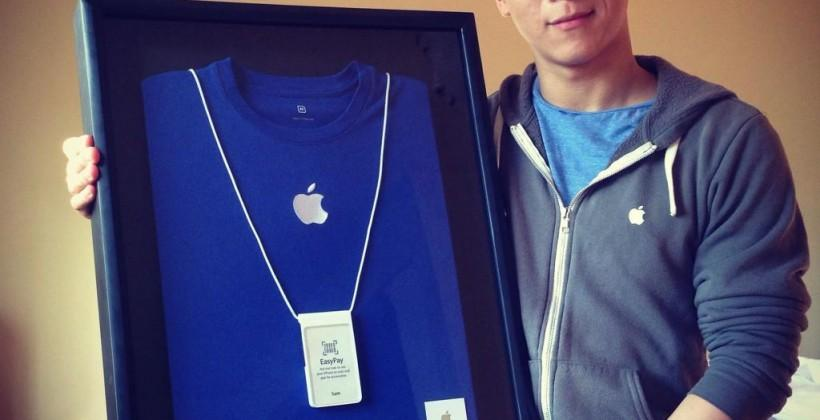Sam Sung worked at Apple and you can buy his last card