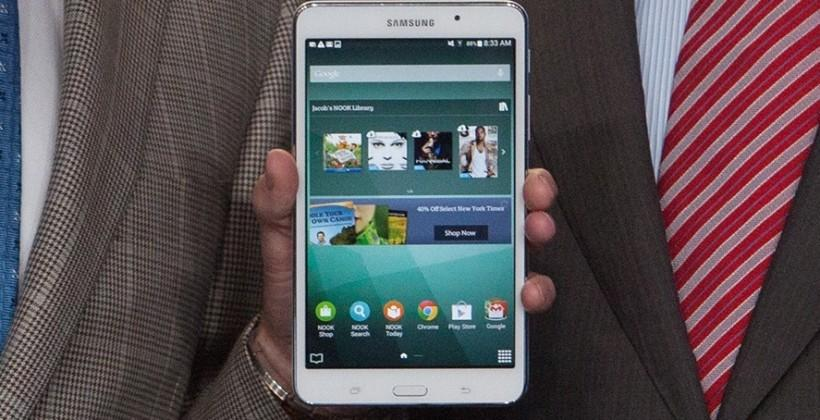 B&N's Samsung Galaxy Tab 4 Nook hits stores today