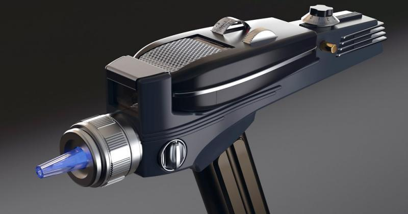 Star Trek Phaser remote: an accurate replica of the actual prop