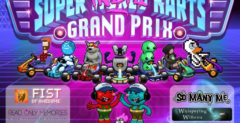 Mario Kart indie crossover ready for Windows, Mac, OUYA