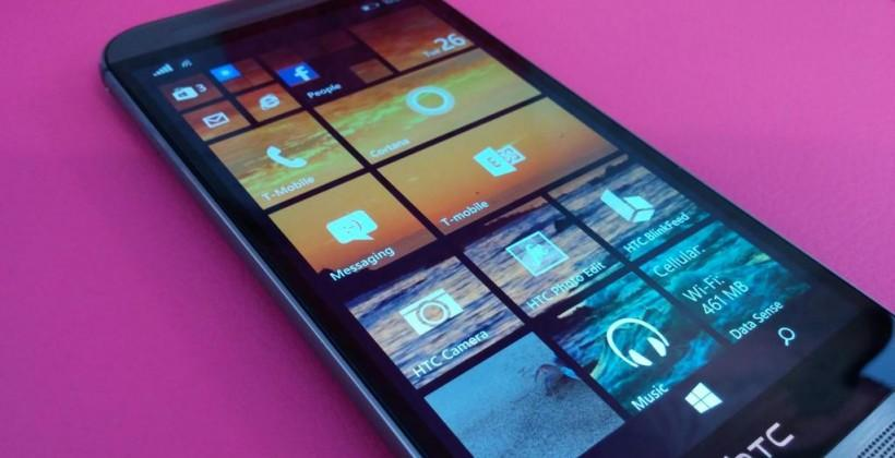 T-Mobile USA releasing HTC One M8 with Windows this fall