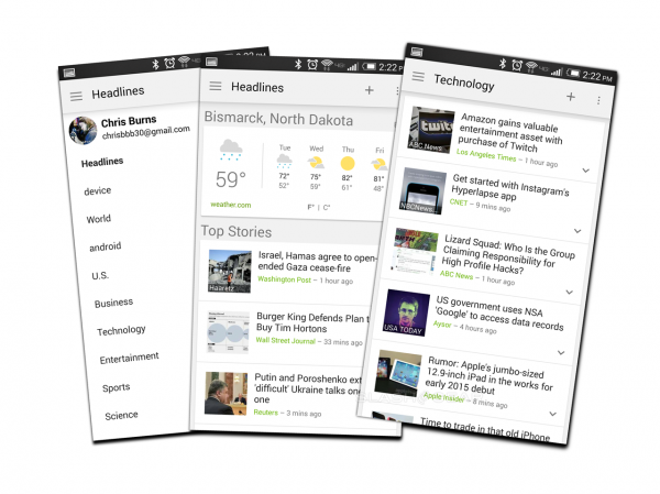 Google News and Weather: your next key Android app - SlashGear