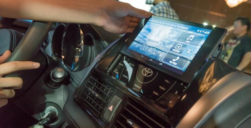 Nexus 7 is at the heart of Toyota's new infotainment system