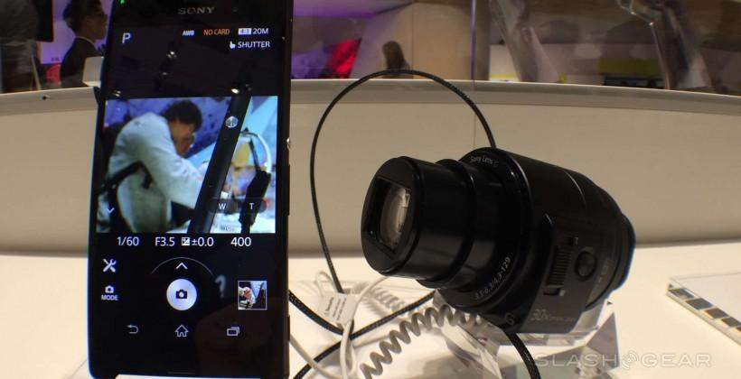 Sony QX30 Lens Camera hands-on