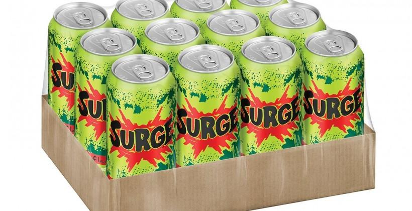 Surge soda pop is back: thank you internets