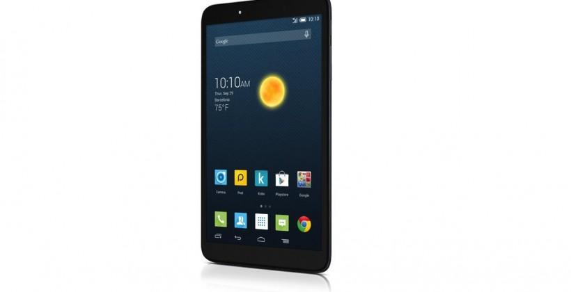Alcatel Onetouch Hero 8 tablet boasts universal remote companion
