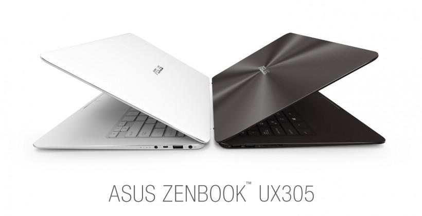 ASUS Zenbook UX305 QHD+ ultrabook boasts slimness