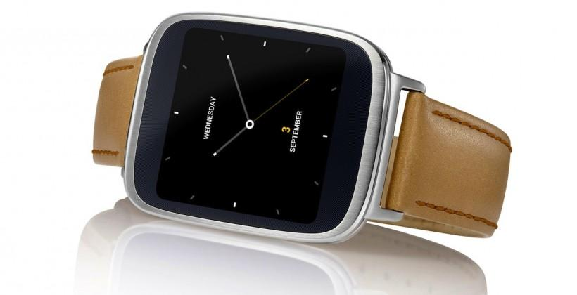 ASUS ZenWatch aims to track stress in style