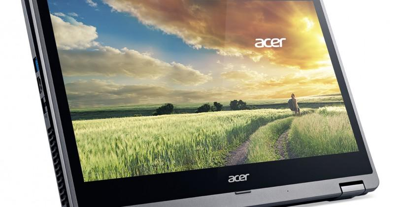 Acer R 14 notebook brings a more traditional convertible
