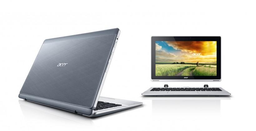 Acer Aspire Switch 11 revealed alongside rebooted 10