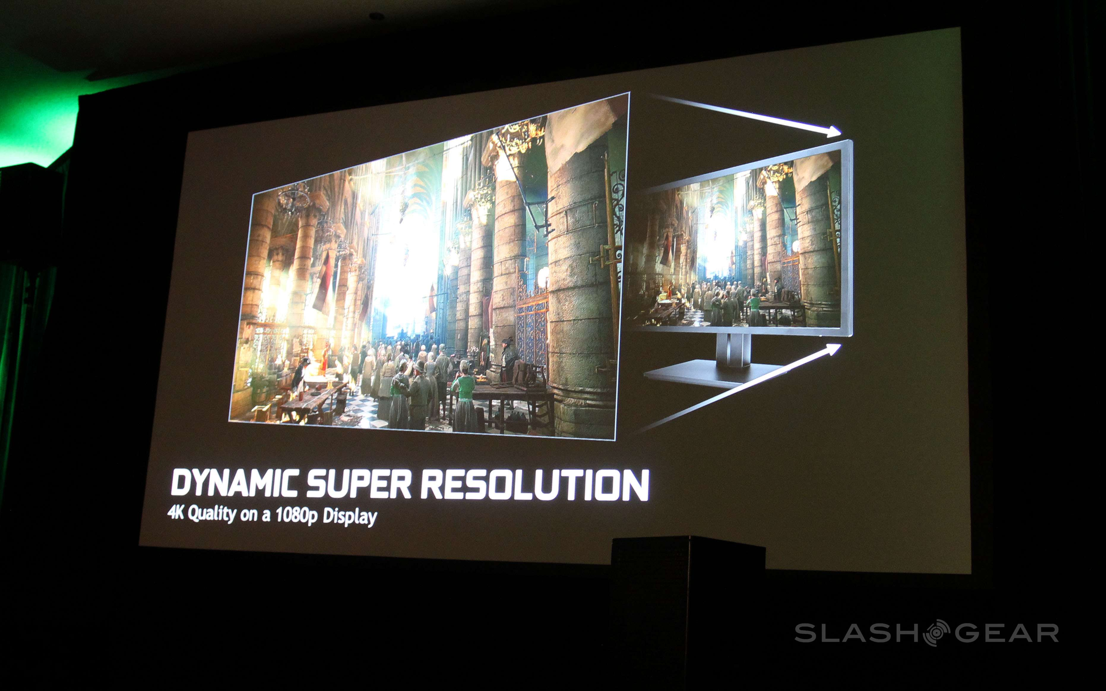 DSR: NVIDIA down-scales 4K for all displays