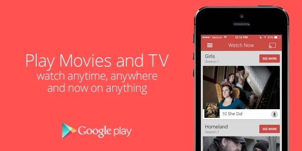 Google Play Movies can now download movies on iOS