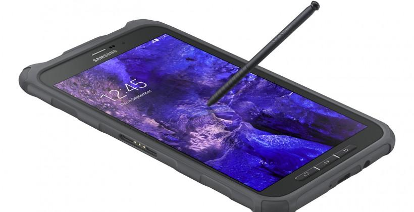 Samsung Galaxy Tab Active: 8-inches with a C Pen