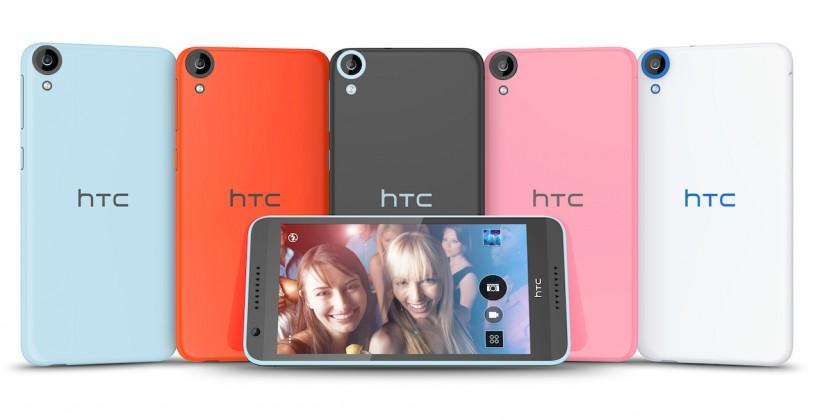 HTC Desire 820 paves way to Android L with 64-bit
