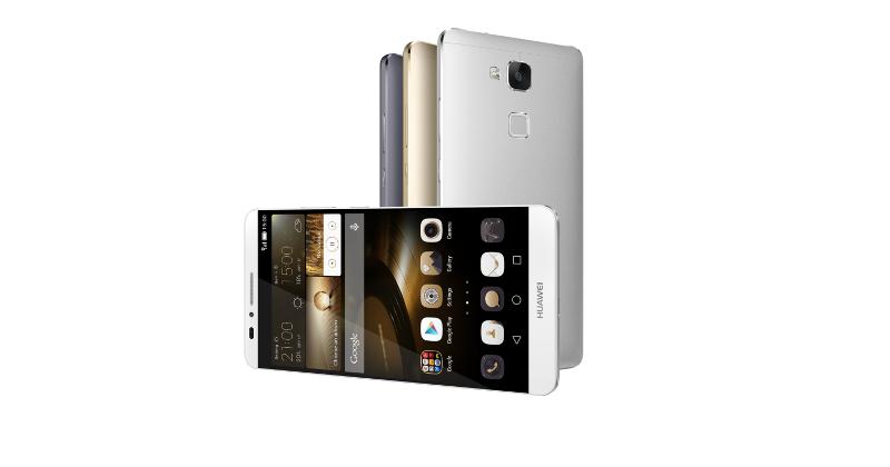 Huawei Ascend Mate7 gets its feet wet in biometrics