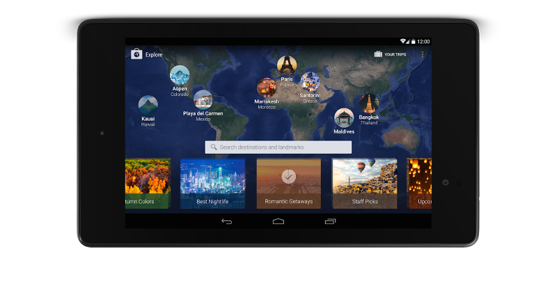 Expedia woos tablet users with the power of search
