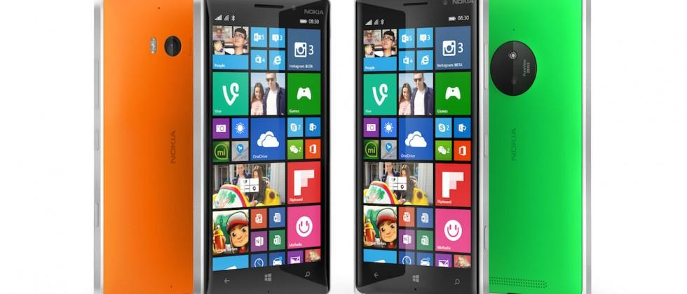 Nokia Lumia 830 pairs PureView with Lumia Denim