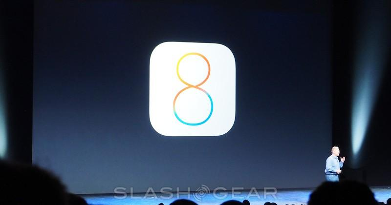 iOS 8; extensibility, Touch ID incoming