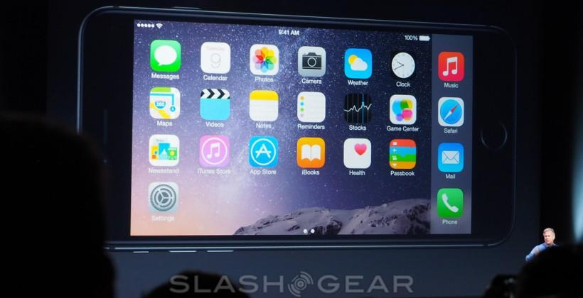 iPhone 6 Plus gets 2-pane Inbox, boosted QWERTY, more