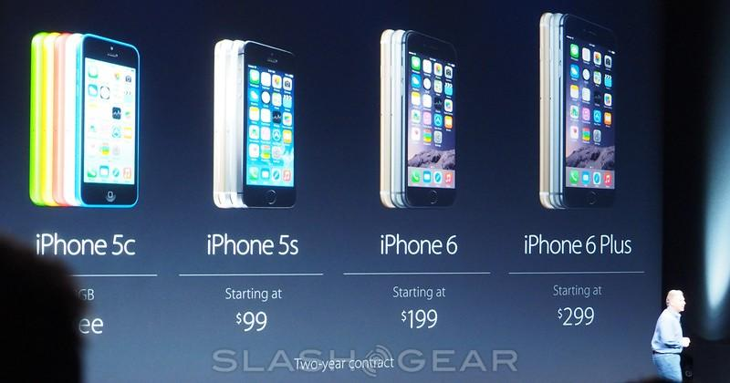 iPhone 6 and 6 Plus pricing and release dates official