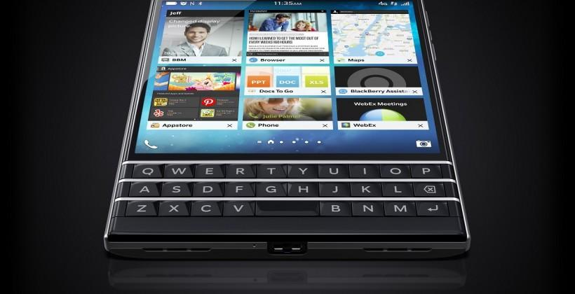 BlackBerry Passport makes its official debut