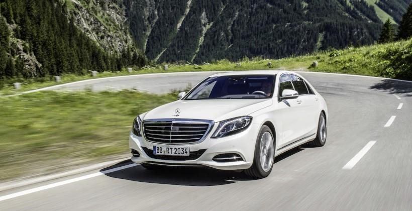 Mercedes bringing hybrid tech to luxury S550 in 2015