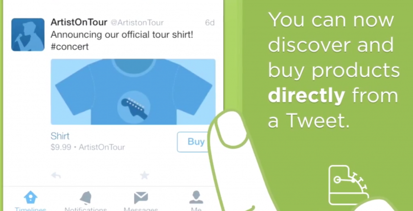 """Twitter """"Buy"""" feature officially in testing phase"""