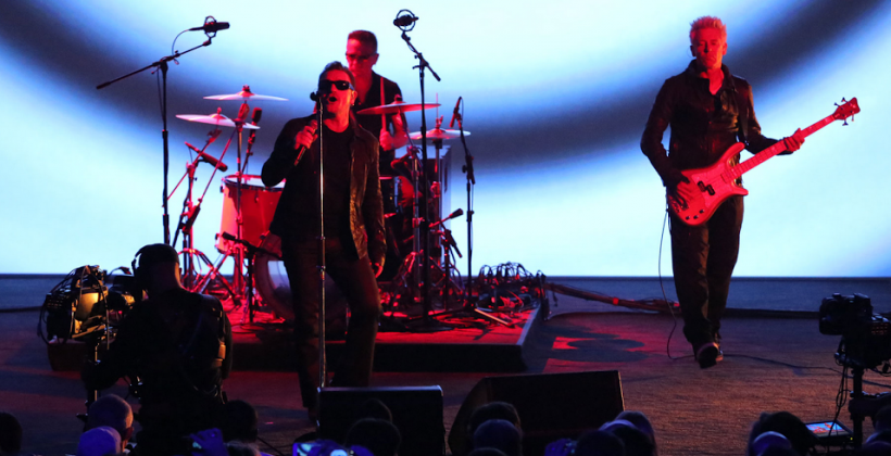 Apple gifts U2's new album to all iTunes users