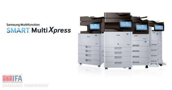 Samsung Smart MultiXpress printers come with Android