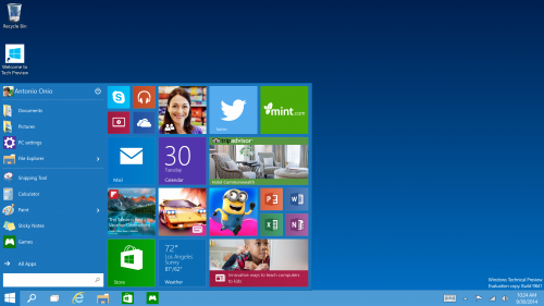 Windows 10 Insider Program hits tomorrow, rollout late 2015