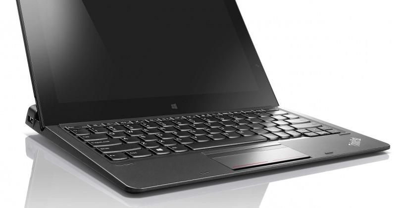 ThinkPad Helix 2-in-1 ultrabook trims down, boasts five modes