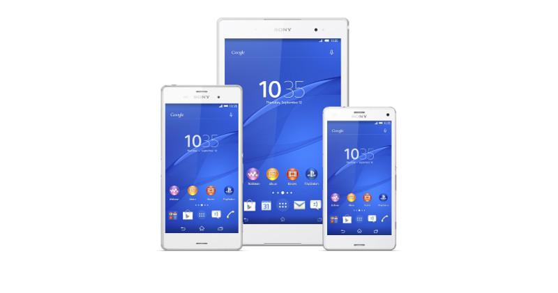Xperia Z3 family: A Sony experience in three sizes