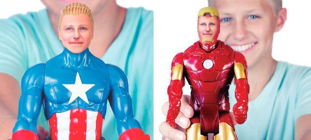 3DPlusMe will 3D print you as a superhero starting tomorrow