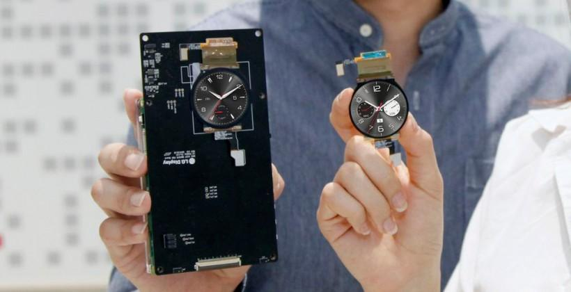 LG G Watch R detailed as World's First round P-OLED touted