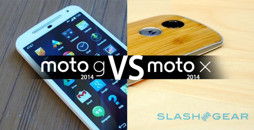 Is Moto G better than Moto X (2014)?