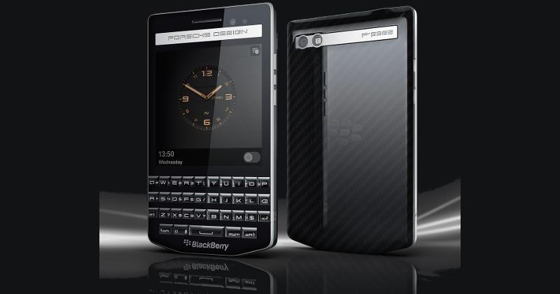 BlackBerry Porsche Design P'9983 gets real, gets unboxed