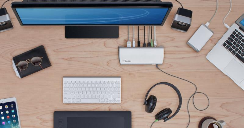 Belkin Thunderbolt 2 Express Dock HD is a connectivity haven