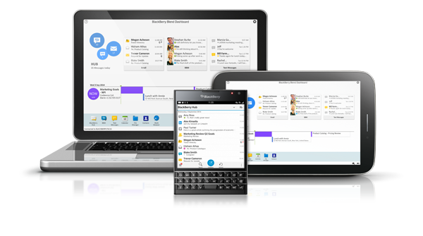 BlackBerry Blend gives access to BB data from any device