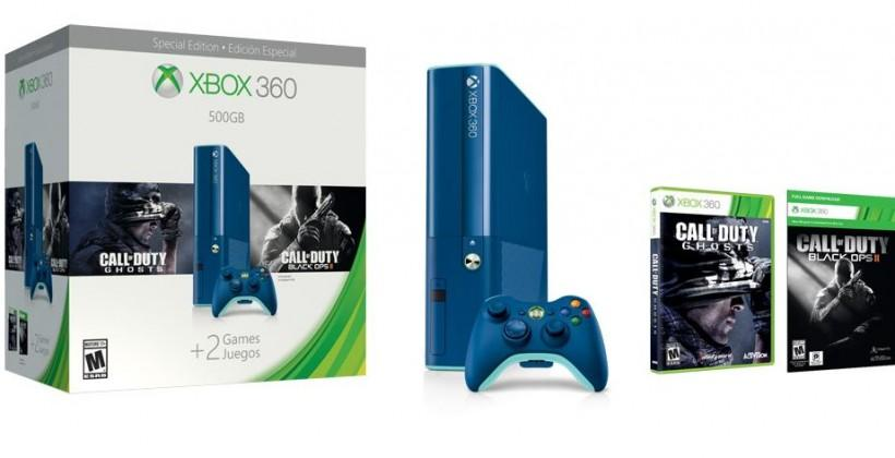 Xbox 360 Holiday bundles include blue console