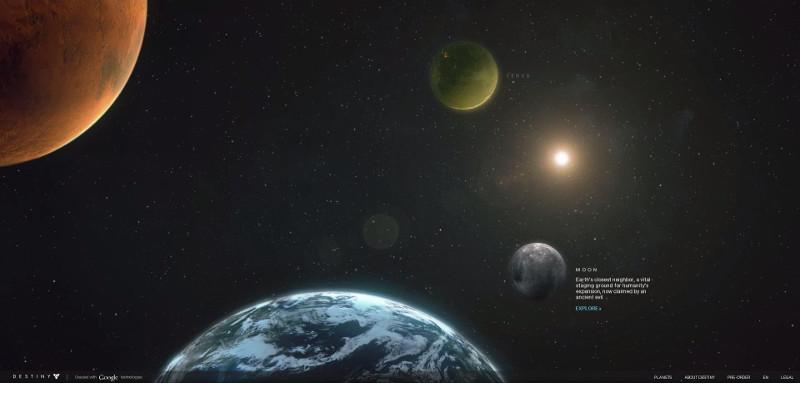 Get a virtual tour of Destiny, Google Maps style
